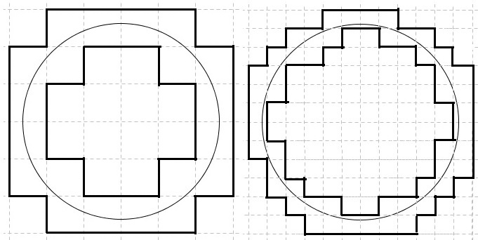 how to find the perimeter of a half circle