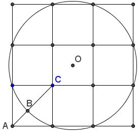 Golden Ratio In a 3x3 Square