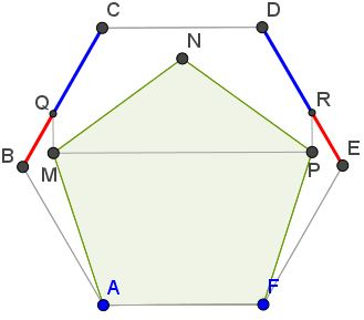 Golden Ratio 5-gon & 6-gon