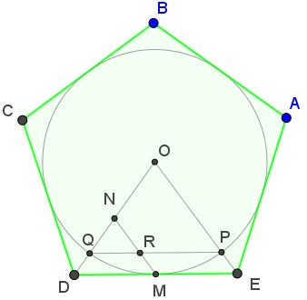 Another Golden Ratio in Regular Pentagon