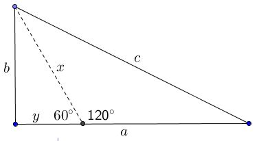 how to find pythagoras with the angle