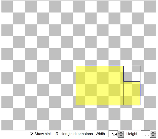 How many squares and rectangles in chessboard