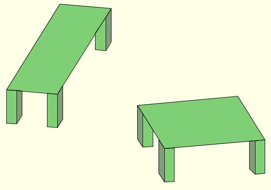 Shepard's Parallelogram illusion