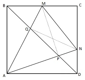 how to cut a 45 degree angle with a square