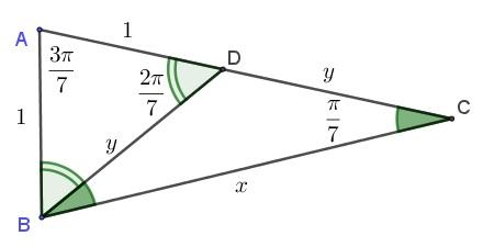 A Quick Proof Of Cos Pi 7 Cos 2 Pi 7 Cos 3 Pi 7 1 8